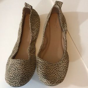 Women's animal print flat shoes NEW